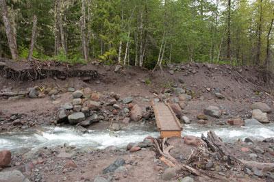 Sandy River footbridge